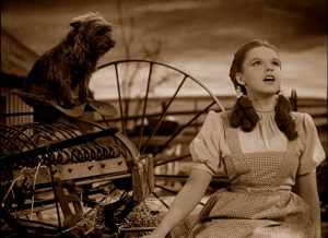 judy garland singing somewhere over the rainbow in the wizard of oz