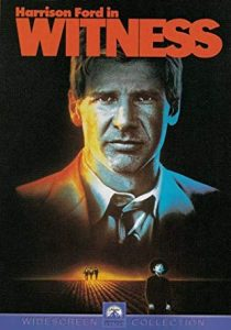 witness movie poster featuring sex symbol harrison ford