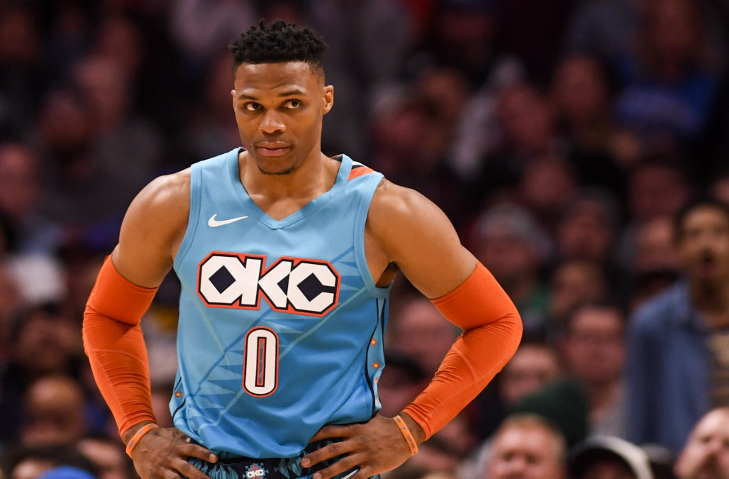 russell westbrook--AAron Ontiveroz/MediaNews Group/The Denver Post via Getty Images)