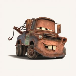 'mater from the cars franchise