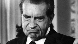 richard nixon with an angry look on his face vocabulario en inglés