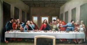the last supper was celebrated on holy thursday