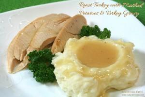 turkey mashed potatoes gravy thanksgiving