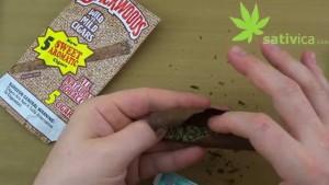 rolling up a backwoods drake