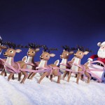 rudolph & the rest of the reindeer