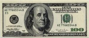 hundred dollar bill wise
