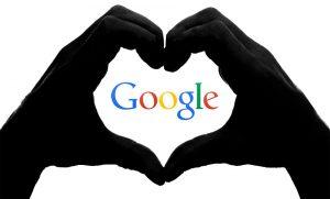 google inside heart symbol--lawsuit