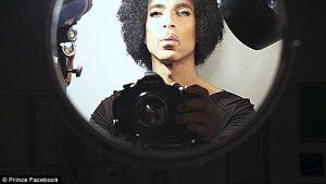 prince looking into a mirror