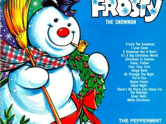 album-cover-for-frosty-the-snowman-by-the-peppermint-kandy-kids