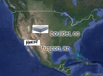 boulder colorado & tucson arizona