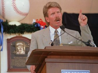 mike schmidt giving his hall of fame induction speech