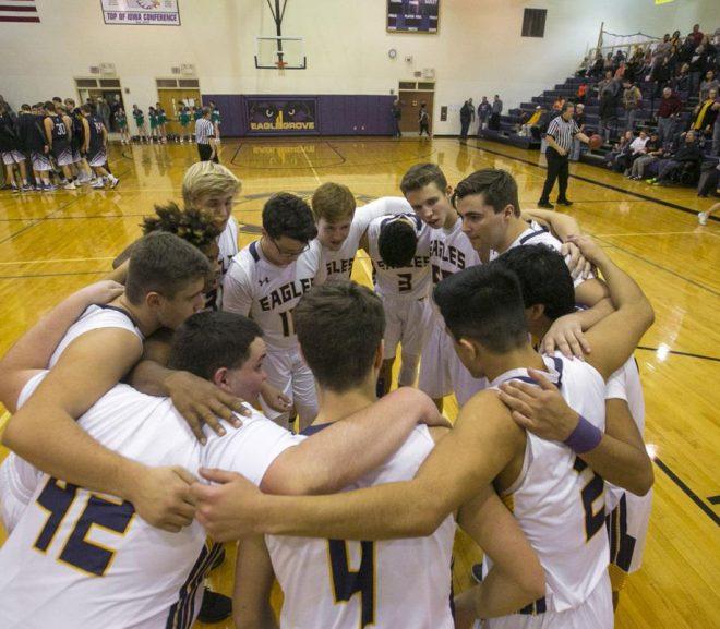 eagle grove boys basketball team