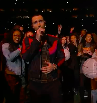 maroon 5 performing she will be loved at super bowl liii