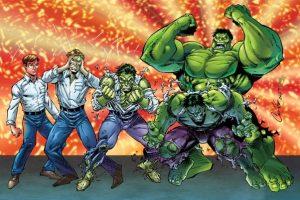 david banner turning into the hulk