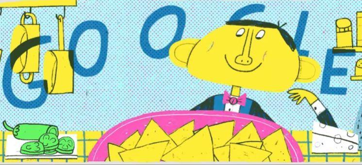 """google-doodle-commemorating-ignacio-""""nacho""""-anaya-garcía's-creation-of-nachos"""